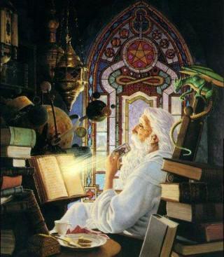 mago-alchimista